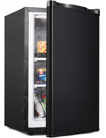 ADT Mini Freezer for Compact Space Small Freezer (Black, 3.0 Cubic Feet)