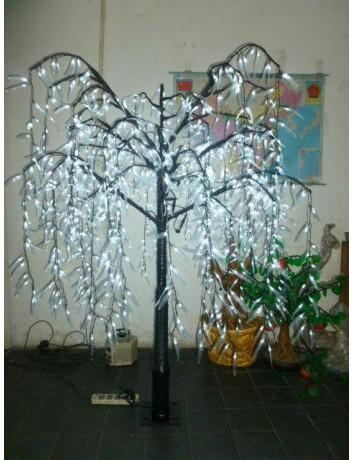 1008pcs LED 6ft Height LED Willow Weeping Tree Home Garden Deco Outdoor White